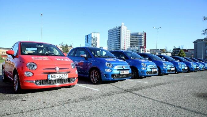 На автомобилях каршеринга CityBee можно без дополнительной платы ездить из Риги в Вильнюс