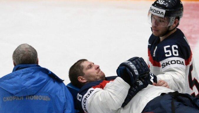 Slovākijas izlase pasaules čempionātā paliek bez diviem spēlētājiem