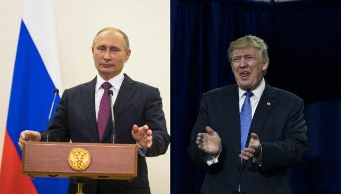 Peskovs neizslēdz Putina un Trampa tikšanos 'G20' samita laikā