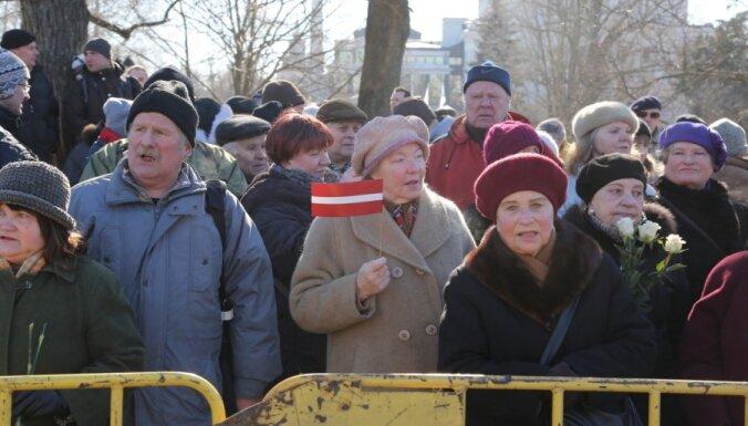 'Latvijas Antinacistiskās komitejas' 16. marta pasākums nenotiks jau otro gadu