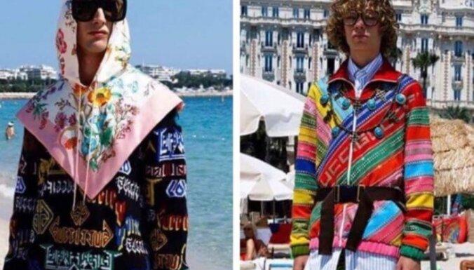 ФОТО. Утомленные солнцем: люди в свитерах, костюмах и пальто вышли на пляж