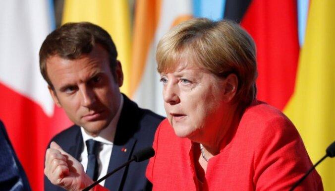 Макрон и Меркель запустили механизм урегулирования по Косово