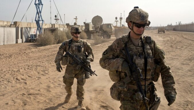 Авиабаза к северу от Багдада подверглась обстрелу