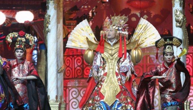 """ФОТО: Николай Басков представил в Риге свое новое шоу """"Игра"""""""