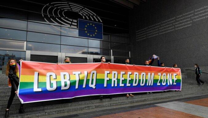 Eiropas Parlaments pasludina Eiropas Savienību par LGBTIK brīvības zonu