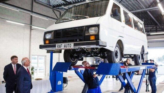 Latvijā plāno atjaunot RAF markas mikroautobusu ražošanu