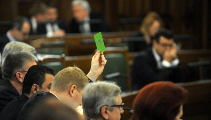 Parlaments konceptuāli atbalsta likumprojektu trauksmes cēlēju aizsardzībai