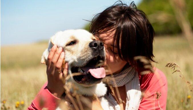 Piecas suņu šķirnes, kas ļoti mīl cilvēkus