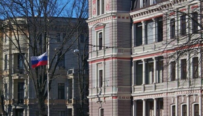 Laikraksts: Latvija Krievijai diplomātisko īpašumu apmaiņā atdevusi vērtīgus īpašumus