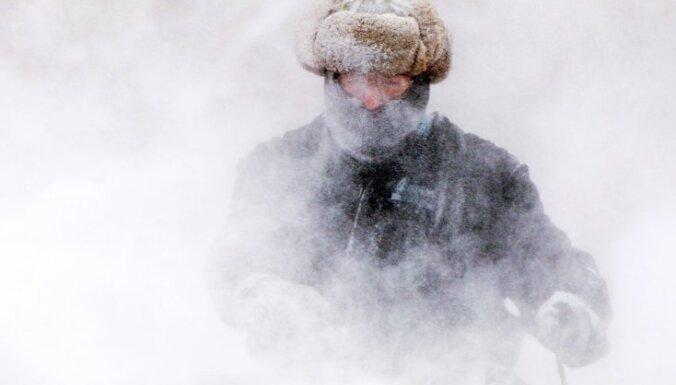 В США вновь наступили суровые холода