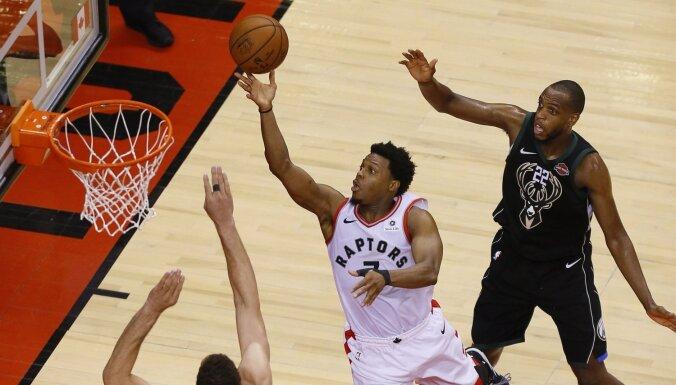 'Raptors' pirmo reizi vēsturē sasniedz NBA finālu