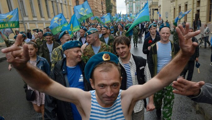 Фонтаны отключат в Петербурге в день ВДВ