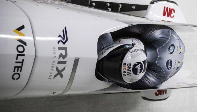Ķibermaņa divnieks piektajā vietā pēc pasaules čempionāta pirmajiem diviem braucieniem