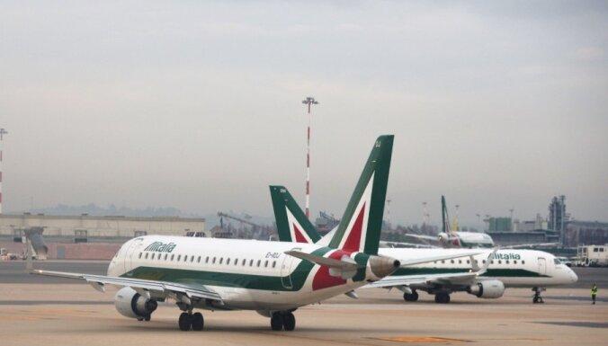 'Etihad Airways' sarunas par 'Alitalia' iegādi - finiša taisnē