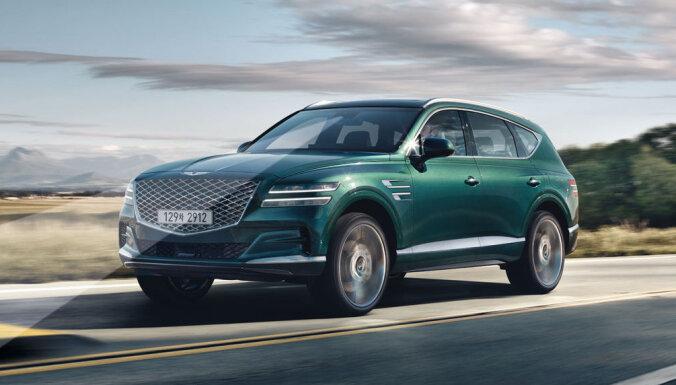 'Hyundai' luksusa marka 'Genesis' parādījusi savu pirmo apvidnieku