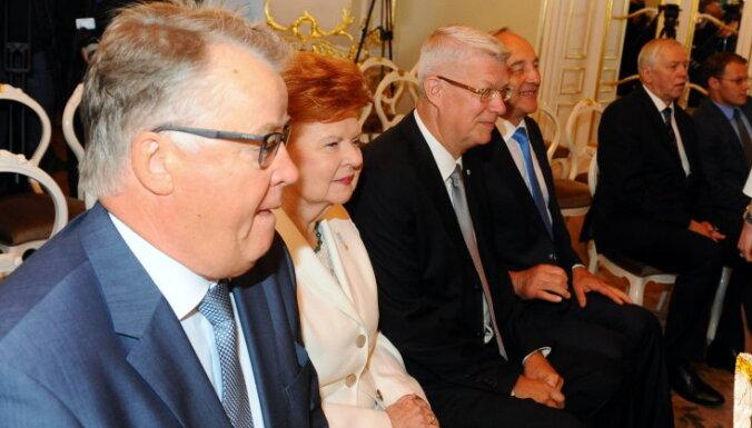 Valsts pērn bijušo prezidentu garantijām iztērējusi vismaz 172 000 eiro