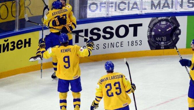 Latvijas hokeja izlases pretiniecēm Zviedrijai un Austrijai gaidāms pastiprinājums no NHL
