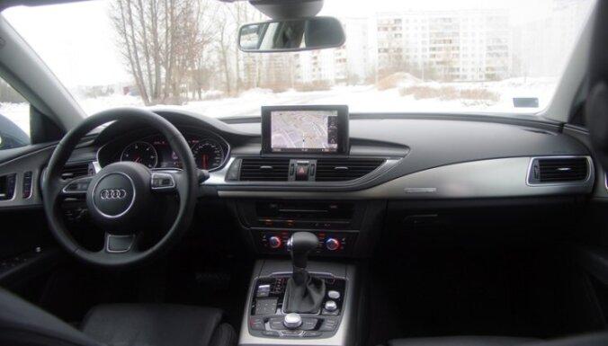 'DELFI Auto' izmēģina 'Audi A7 Sportback'