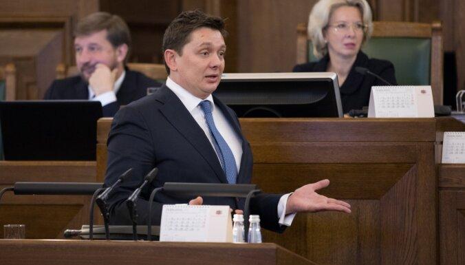 Saeima nolemj piekrist kriminālvajāšanas uzsākšanai pret Artusu Kaimiņu