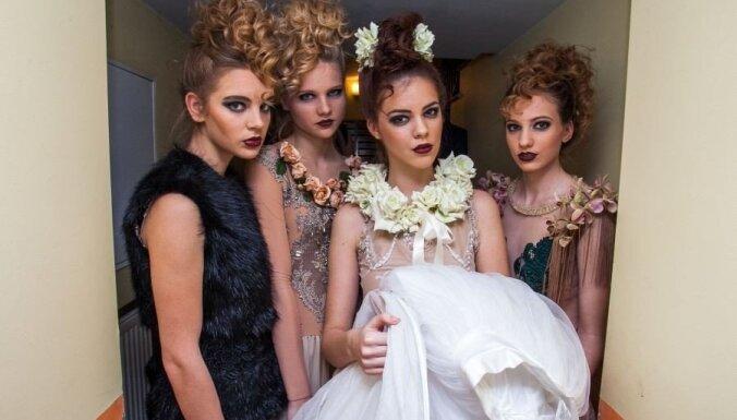 Rīgā noticis īpaši krāšņs modes burziņš