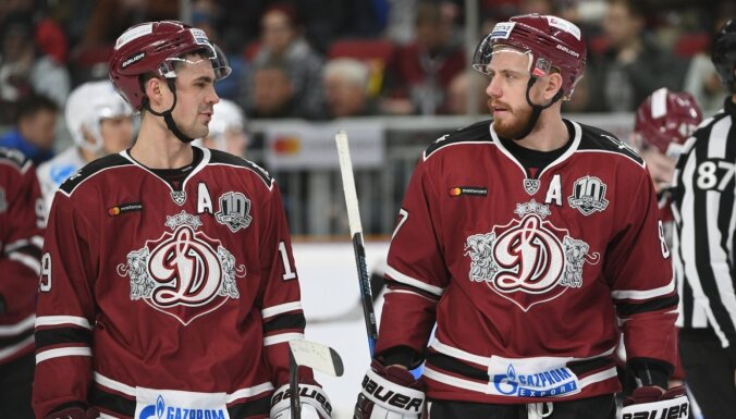 'Dinamo' saglabā tās ilggadējos uzbrucējus Rēdlihu un Meiju