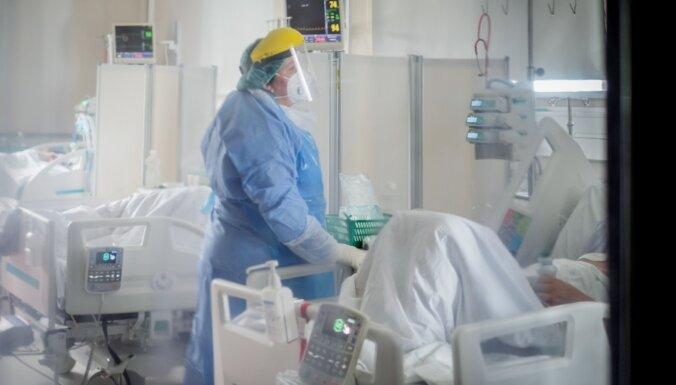 Латвия занимает четвертое место в ЕС по заболеваемости Covid-19