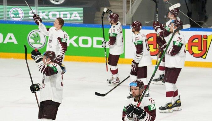 Latvijas hokejisti olimpisko kvalifikācijas turnīru sāks ar maču pret Itāliju