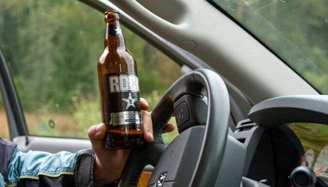 Рейды на Лиго: полиция задержала уже 32 пьяных водителя