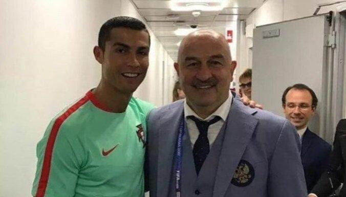 Stanislav Cherchesov, Cristiano Ronaldo