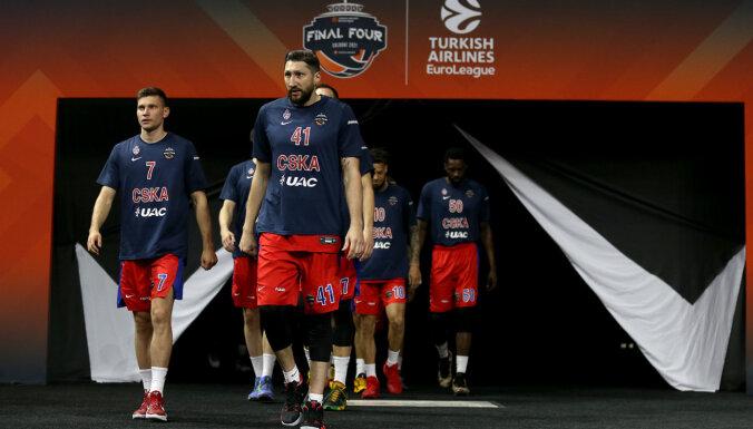 Strēlnieks un CSKA zaudē Eirolīgas bronzas spēlē