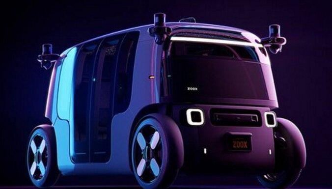 ВИДЕО: Стартап от Amazon представил свое первое роботакси