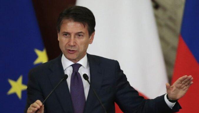 Itālijas premjers aicina atcelt Krievijai noteiktās ES sankcijas
