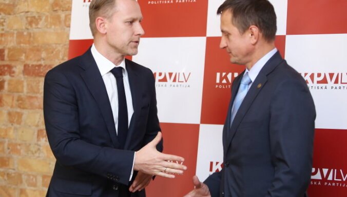 'KPV LV' un ZZS saruna – konstruktīva un atrasti kopsaucēji, saka Gobzems