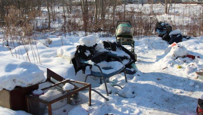 В Латвии за четыре месяца от холода погибли 35 человек