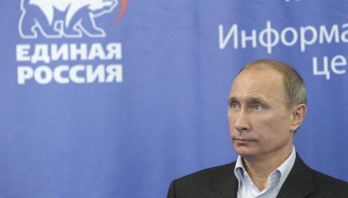 'The New York Times': protesti Krievijā Putinu izmetuši no neaizskaramo saraksta