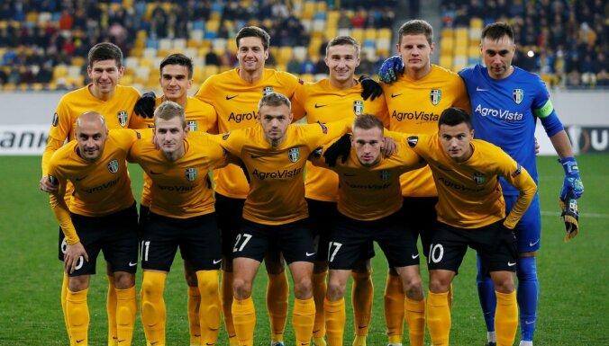 Dubras pārstāvētā 'Oleksandriya' izcīna punktu UEFA EL spēlē