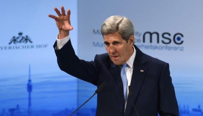 Керри: Россия должна предстать перед военным трибуналом из-за Сирии