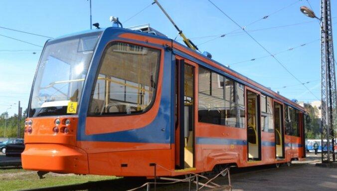 ВИДЕО, ФОТО: новые российские трамваи доставлены в Даугавпилс