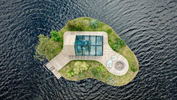 """ФОТО: Уникальное место для ночлега — """"Плавучий остров"""" на озере Мордангас"""