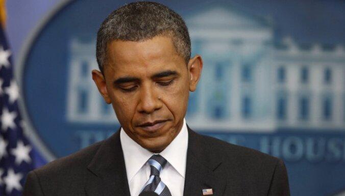 Obama: Sīrijas valdība spīdzina valsts iedzīvotājus