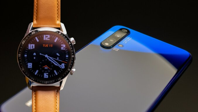 'Huawei' izziņo jaunumus Latvijas tirgū, tostarp 'Android' telefonu