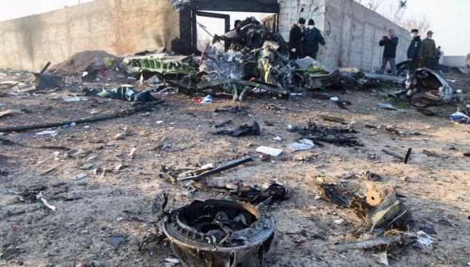 Irāna noliedz faktu slēpšanu par Ukrainas pasažieru lidmašīnas notriekšanu