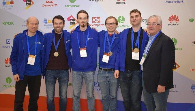 LU programmētāji 310 komandu konkurencē izcīna ceļazīmi uz finālu Maskavā