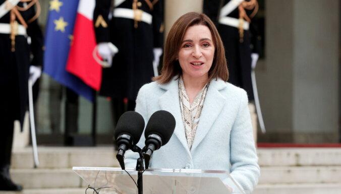 Moldovas prezidente izsludina ārkārtas vēlēšanas