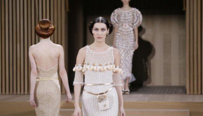 Экологический шик от Карла Лагерфельда: лучшие модели и образы коллекции Chanel, spring/summer 2016