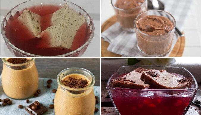 Kakao, šokolādes un kafijas: 10 vienkārši saldie krēmi ar bērnības garšu