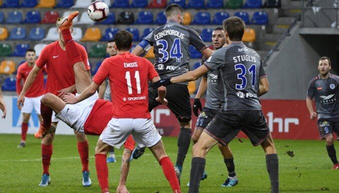 'Spartaks' un 'Riga' sestdien Pērnavā aizvadīs pārbaudes spēli