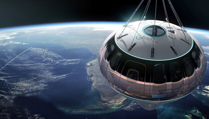 Augšup 'Neptūnā': jauns spēlētājs kosmosa tūrisma nozarē sola komfortu un zemu cenu