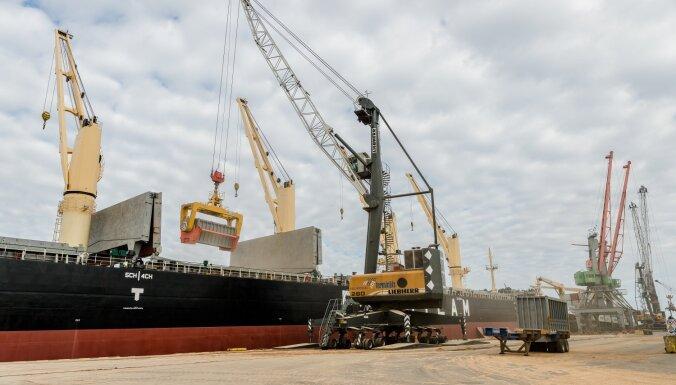 Объем перевалки древесных гранул в Рижском порту стремительно растет