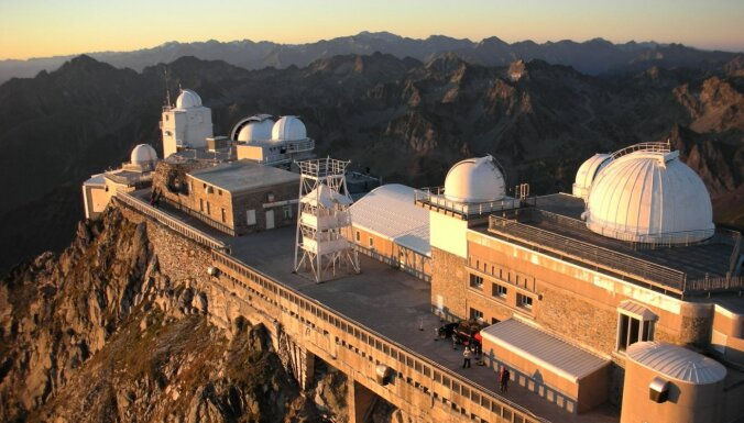 Grandiozie debesu vērotāji – piecas skaistas observatorijas